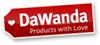 DaWanda-Logo als JPG (100 Pixel Breite mit weißem Hintergrund und Schatten)